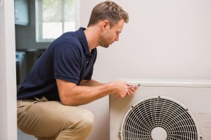This is a picture of an ac technician.